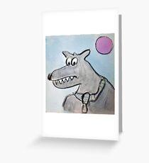 Mr. Wolf Greeting Card