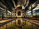 Taj Mahal by Nathalie Chaput