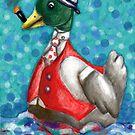 Monsieur Duck by Penny Hetherington