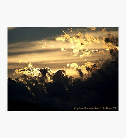 Celestial Dance Photographic Print