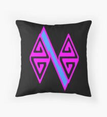 Zag Zig #1 Throw Pillow