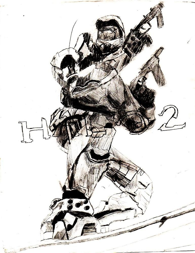 Halo 2 by justin herman