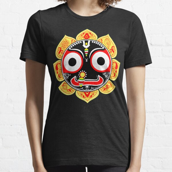Jagannath the lord of universe in Hinduism. Treditional art style of India known as pattachitra Essential T-Shirt