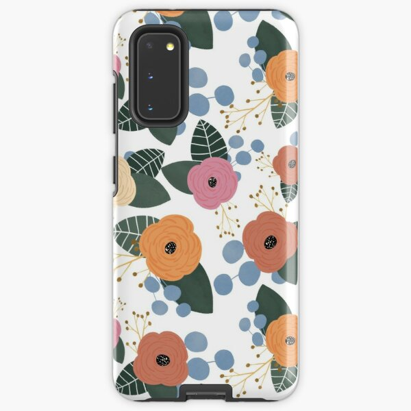 Rifle Paper Company Inspired Pattern Samsung Galaxy Tough Case