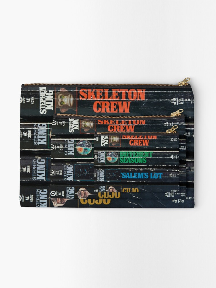 Alternate view of King of Horror Zipper Pouch