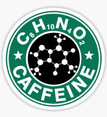 C8H10N4O2-Bucks Logo Sticker