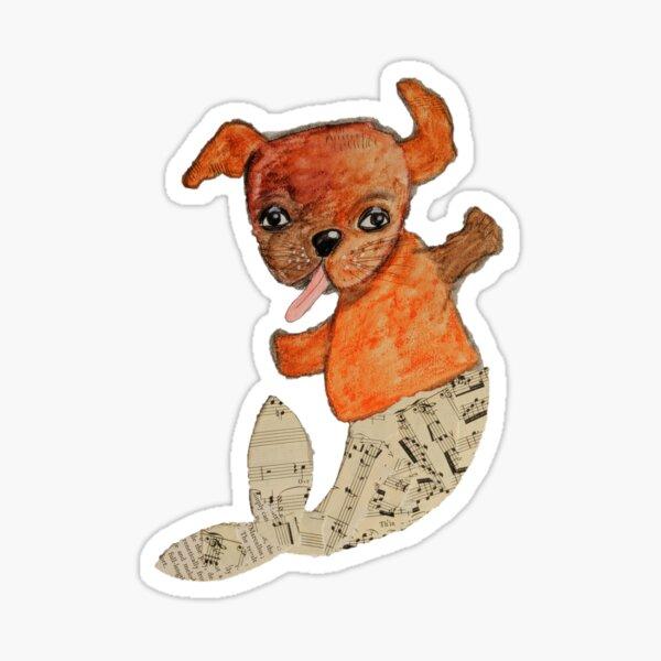 Mer-pup Sticker