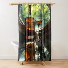 Welcoming the Golden Hour Shower Curtain