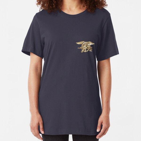 Navy SEALs trident Slim Fit T-Shirt
