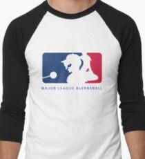 Major League Blernsball (White) Men's Baseball ¾ T-Shirt