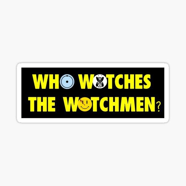 Alan Moore Watchmen Pegatina
