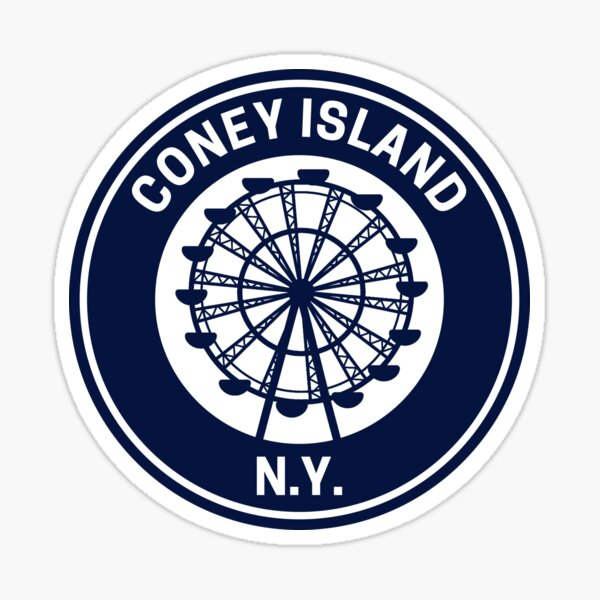 Vintage Coney Island  Sticker