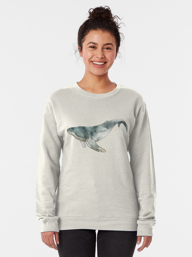 Alternate view of Humpback Whale Pullover Sweatshirt
