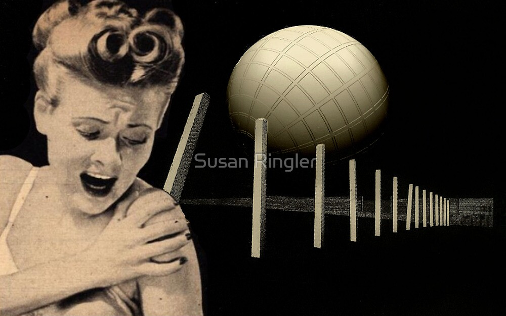 ..this   world is full of fears... by Susan Ringler