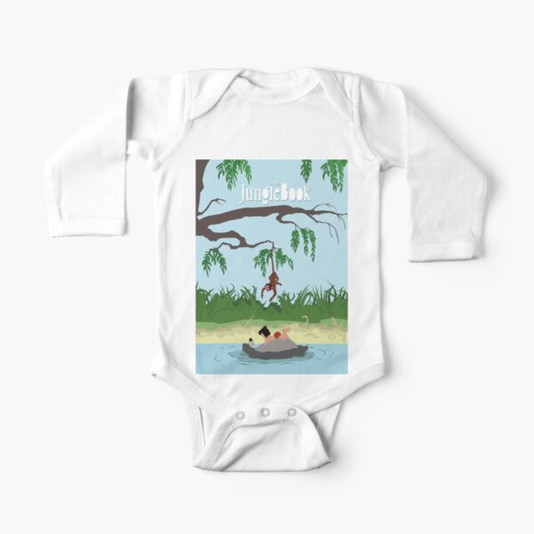 JUNGLE BOOK Long Sleeve Baby One-Piece