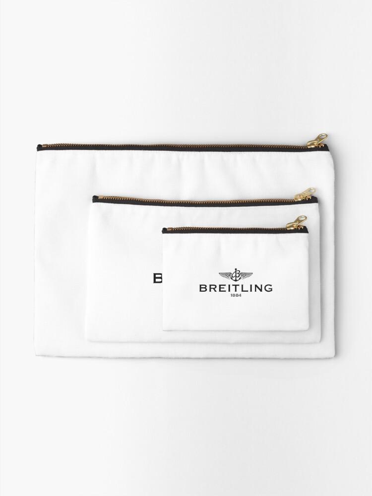 Alternate view of Breitling Logo Zipper Pouch