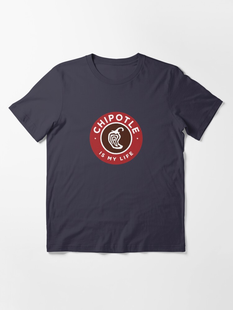 Alternate view of Chipotle Is My Life Logo Essential T-Shirt