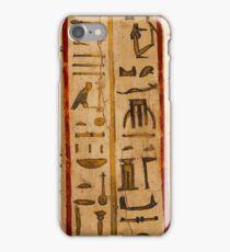 Egypt hieroglyphs iPhone Case/Skin