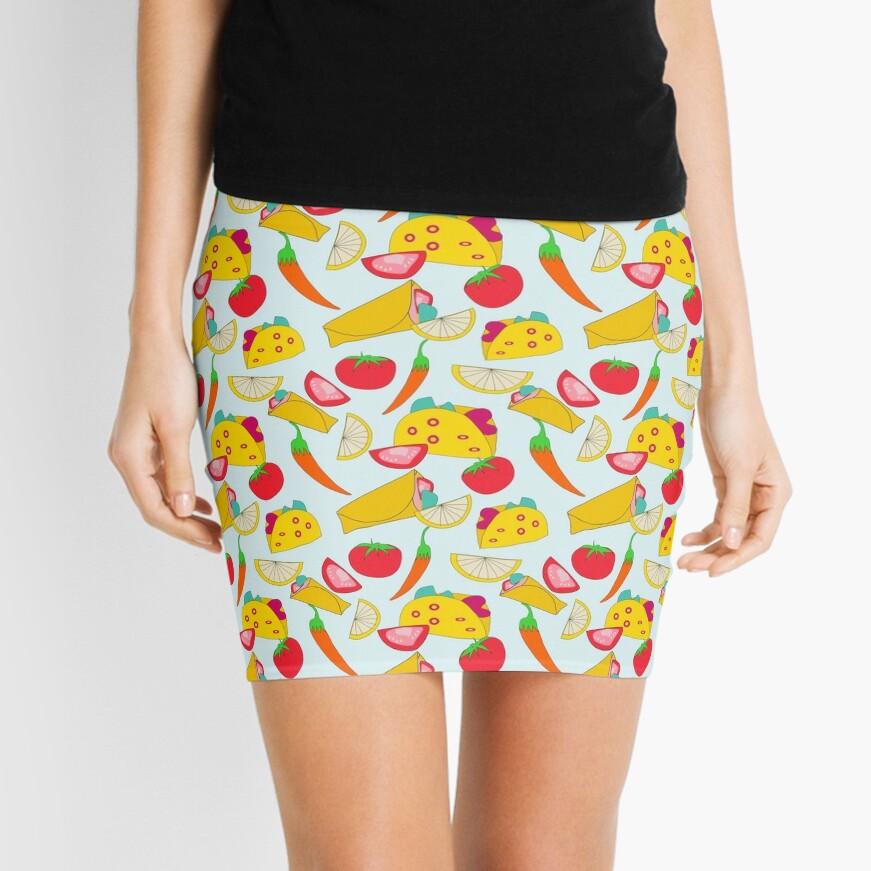 Burraco Fest Mini Skirt