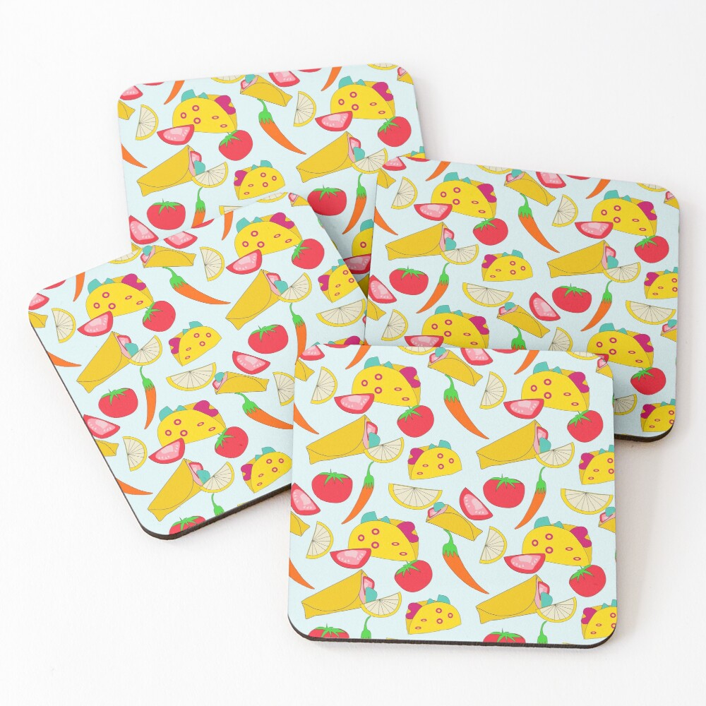 Burraco Fest Coasters (Set of 4)