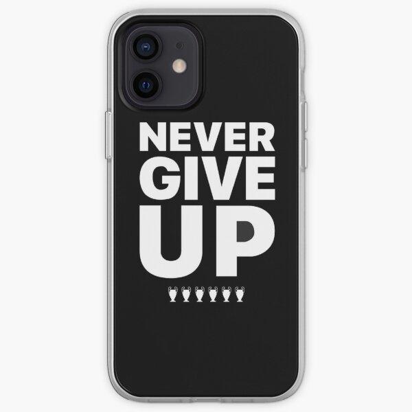 Nunca te rindas, el Liverpool FC Funda blanda para iPhone