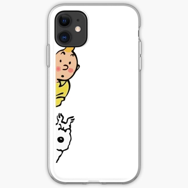 Tintin and Milou iPhone Soft Case
