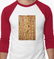 Egypt hieroglyphs, grunge seamless pattern T-Shirt