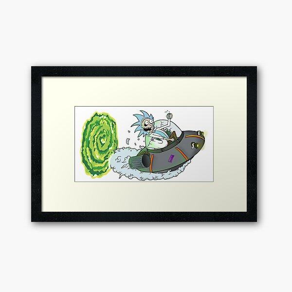 Ratrod Rick Framed Art Print