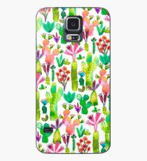 Cacti garden Case/Skin for Samsung Galaxy
