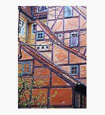 Tutor architecture in Copenhagen, Denmark Photographic Print