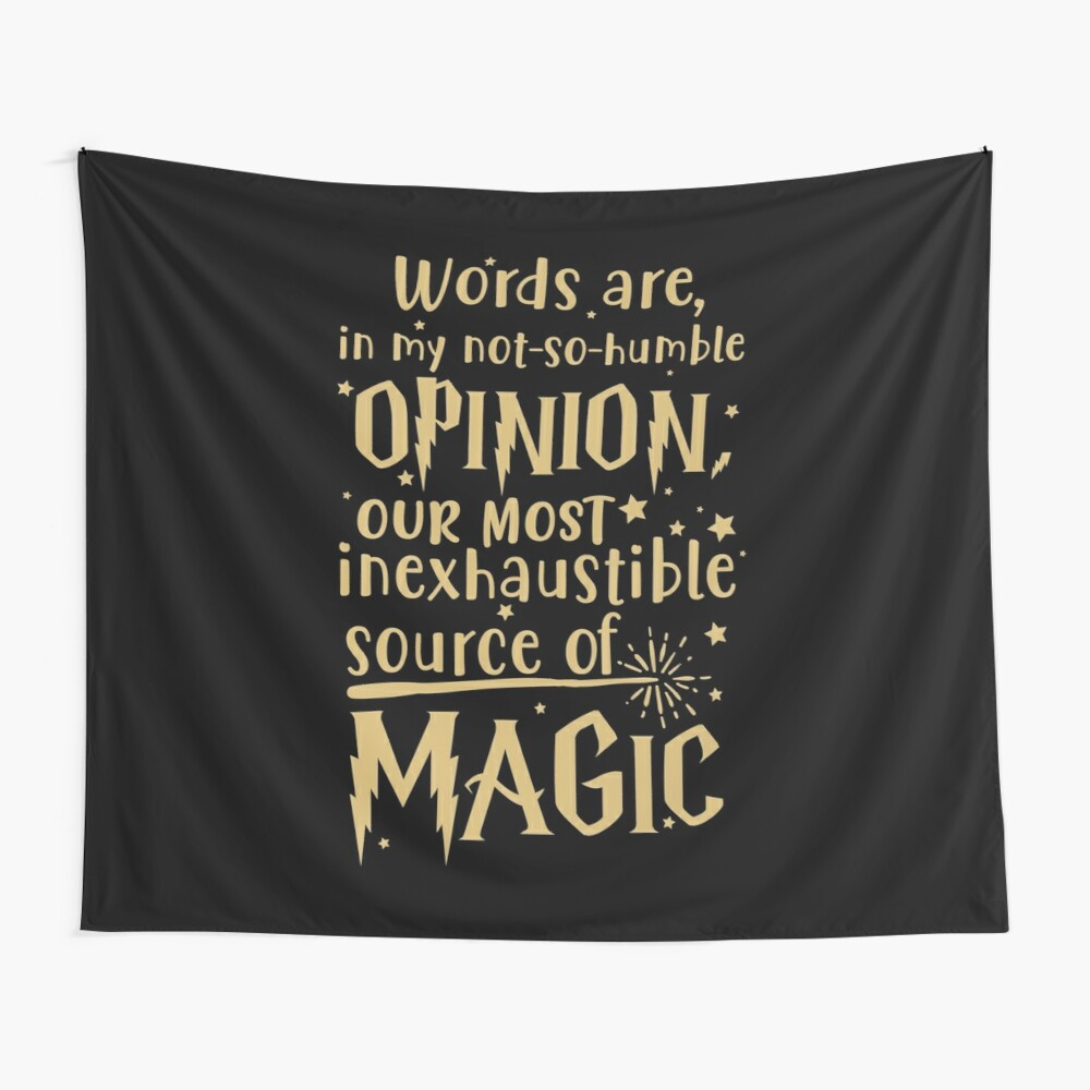 Inexhaustible source of magic Wall Tapestry