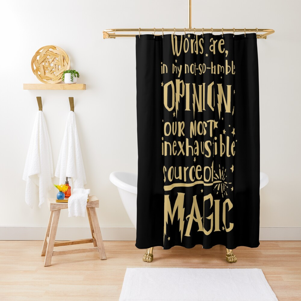 Inexhaustible source of magic Shower Curtain