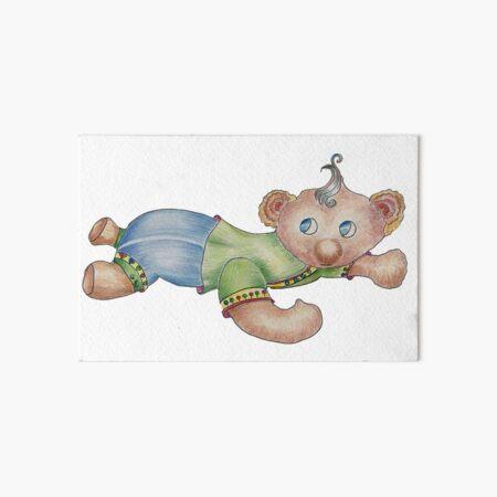 Baby Bear Art Board Print