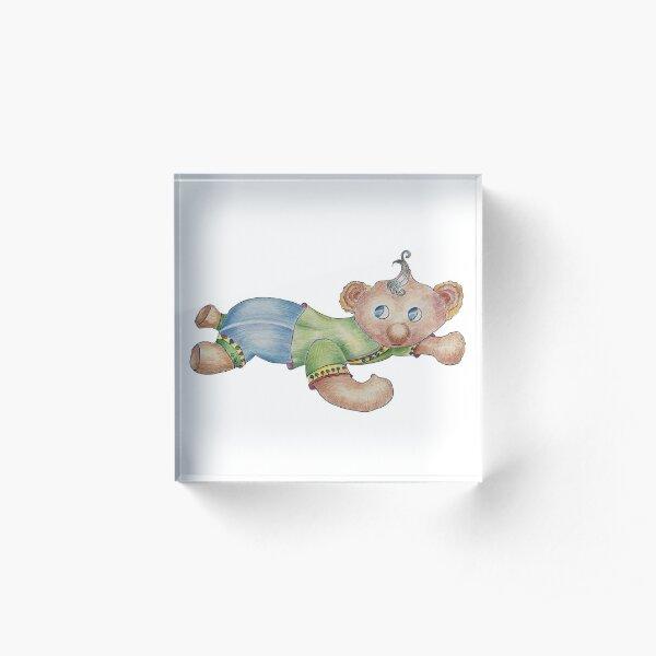 Baby Bear Acrylic Block