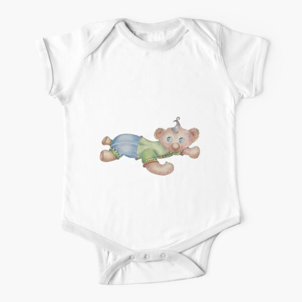 Baby Bear Short Sleeve Baby One-Piece
