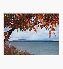 The Sleeping Giant - Thunder Bay, ON Photographic Print