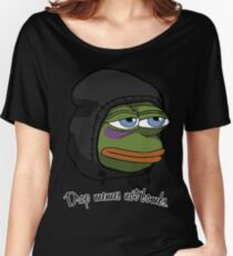 Pepe Bombs Women's Relaxed Fit T-Shirt