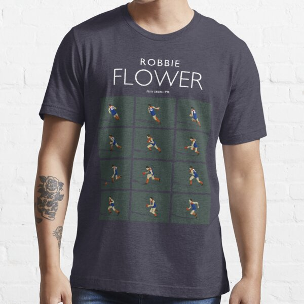 Robbie Flower, Melbourne (for dark blue shirts only) Essential T-Shirt