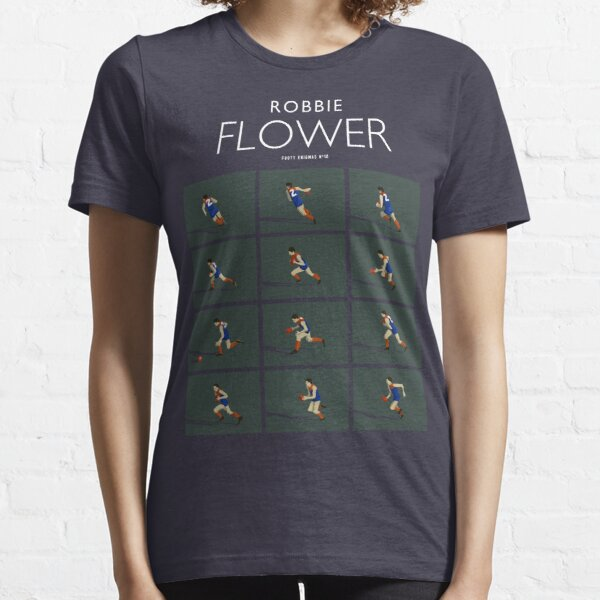 Robbie Flower, Melbourne (for dark blue shirts only) Essential T-Shirt
