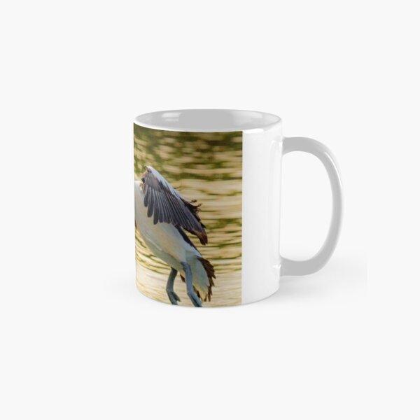 Pelican Taking Off Classic Mug