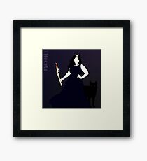 Hecate Goddess of Witchcraft Framed Print