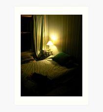 Paddington Bedroom Art Print
