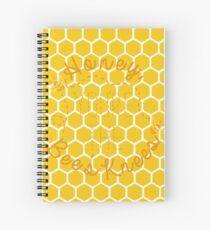 Honey, You're the Bee's Knees Spiral Notebook