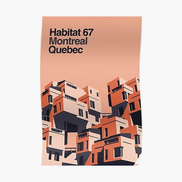 Affiche Habitat 67 Poster