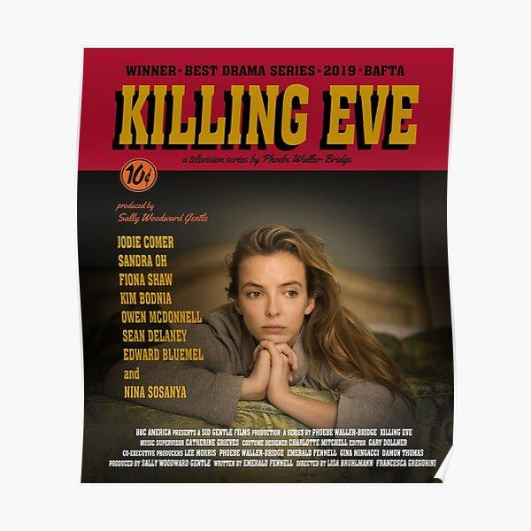 Killing Eve Movie Poster Póster