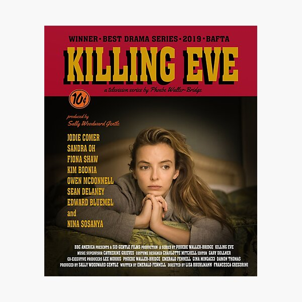Killing Eve Movie Poster Photographic Print