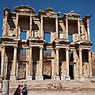 Great Library of Celsus by Peter Ede