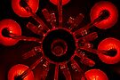 Red Chandelier by Jen Waltmon