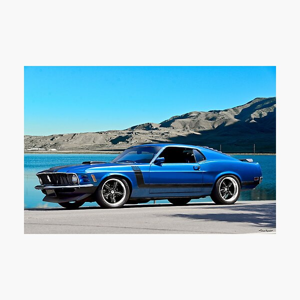 1970 Ford Mustang Boss 302 Photographic Print