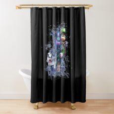 Luigi's Mansion 3 Design - Colored Shower Curtain